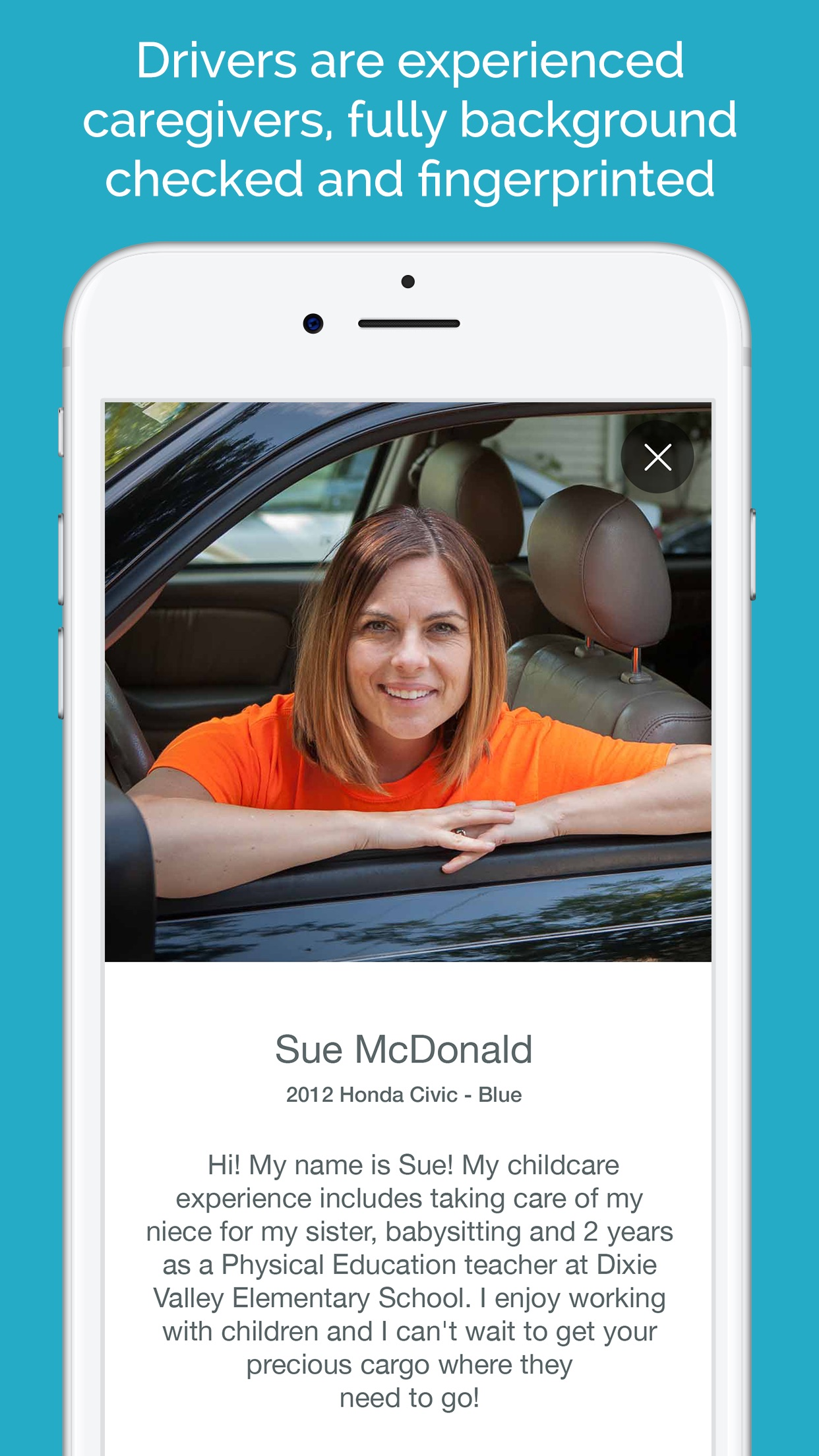 HopSkipDrive - Rides for Kids Screenshot