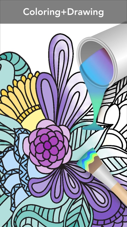 Mandala Coloring Book screenshot-3