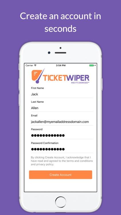 Ticket Wiper