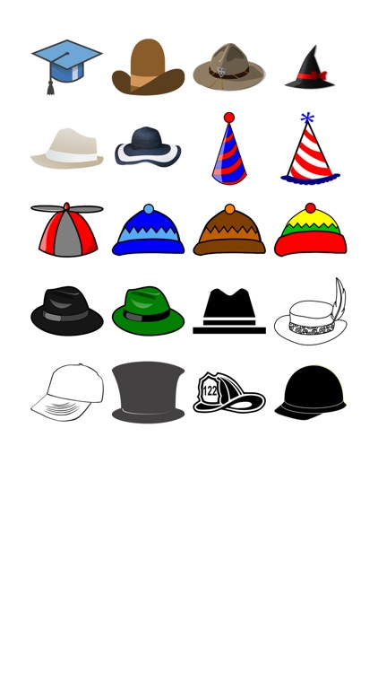 Hat Stickers!
