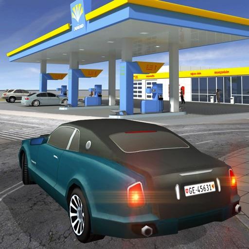 АЗС игра вождение автомобиля: парковка симулятор