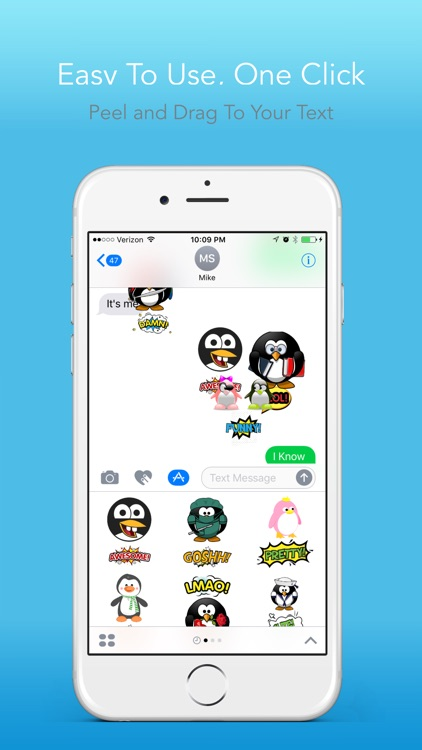 Penguin Lifemoji - Funny Emoji for Messaging screenshot-4