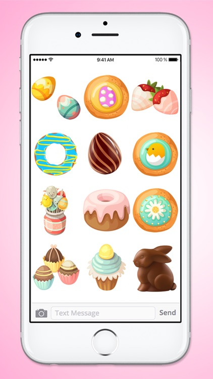 Easter Treats Cookies Cake and Candy Sticker Pack screenshot-3
