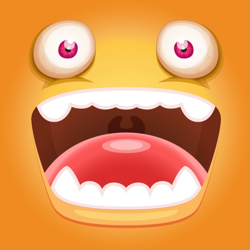 Monster Face Emoji Sticker Pack 2