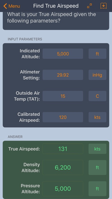E6B Aviation Calculator screenshot three