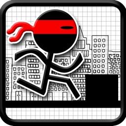 Ninja Line Run - FREE Fast City Adventure