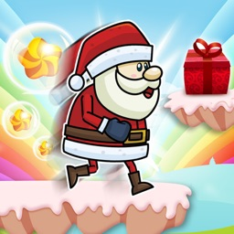 Run Santa Run - Santa tracker Candy World