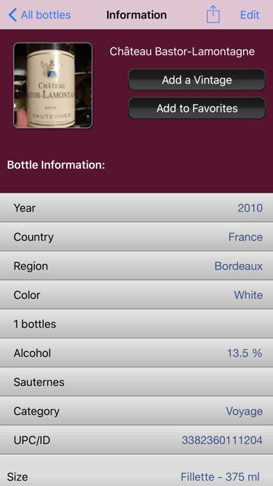 Wine Cellar Скриншоты6