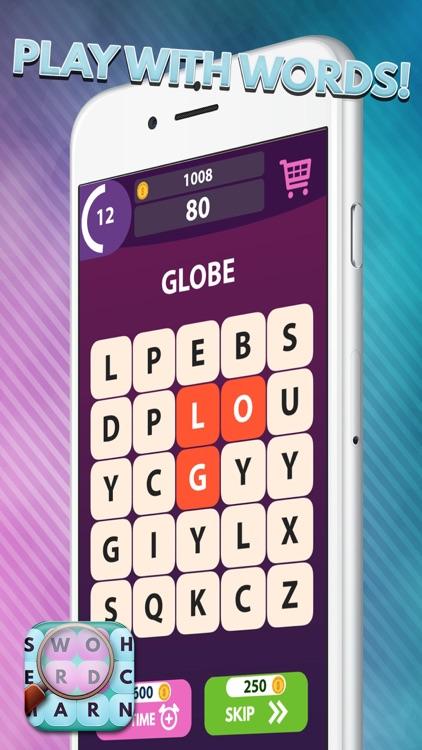 Word Search Genius: Hidden Words Crossword Solver screenshot-3