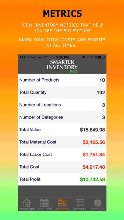 Smarter Inventory