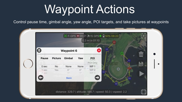 Flight Plan for DJI Drones screenshot-3