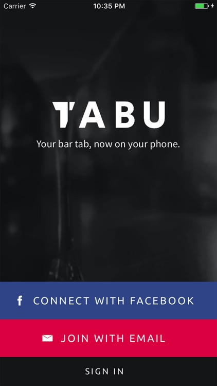 TABu - One touch bar tab payments screenshot-0