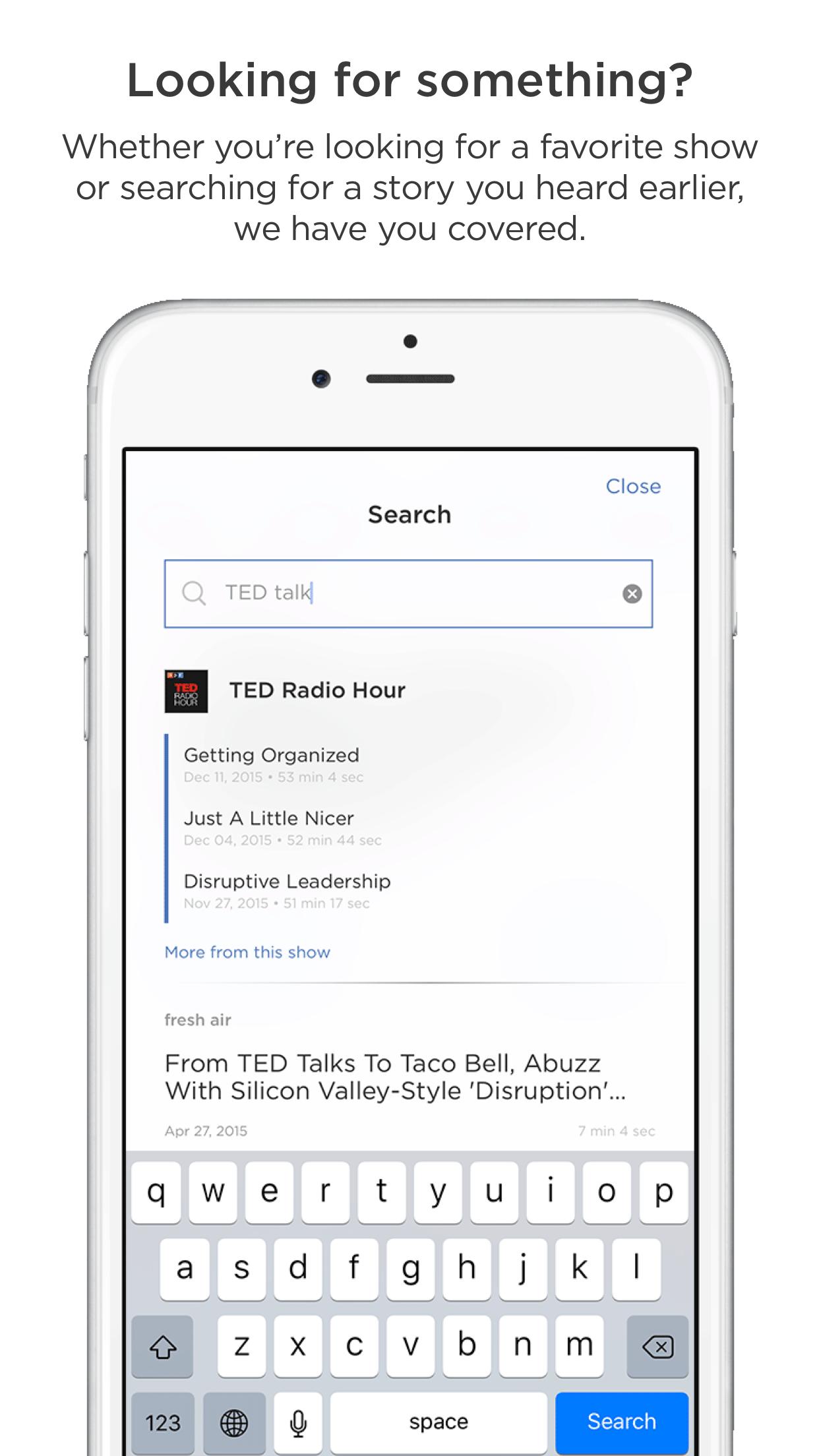 NPR One Screenshot