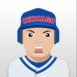 Chicago C Baseball Stickers & Emojis