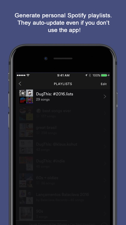 DugThis - Discover new music through friends
