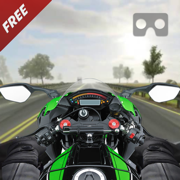 VR疯狂摩托车交通比赛 - 最好的免费赛车游戏2017年虚拟现实