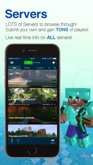 Seeds Lite For Minecraft - Server, Skin, Community on the App Store