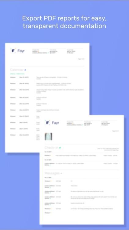 Fayr - Co-Parent Simplified screenshot-4
