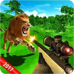 Sniper Lion Hunter Challenge