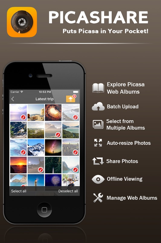 3 Minutes to Hack Picashare Lite - Picasa and Google Photos
