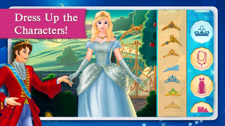 Cinderella Fairy Tale Dress Up and Storybook HD