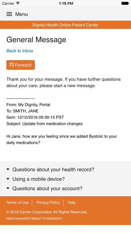 My Care - Dignity Health screenshot-4