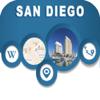 San Diego CA USA City Offline Map Navigation EGATE