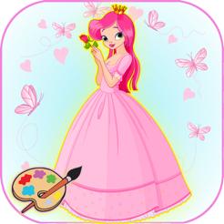 Peri Prenses Boyama Cocuklar Okul Oncesi Oyunu App Store Da