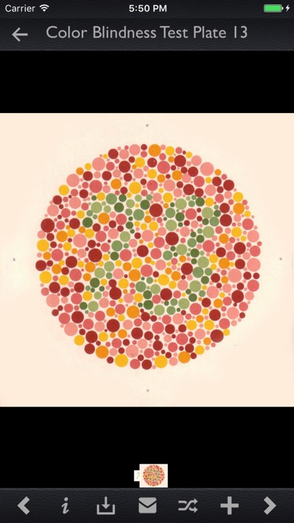 Color Blindness Test Info screenshot-3