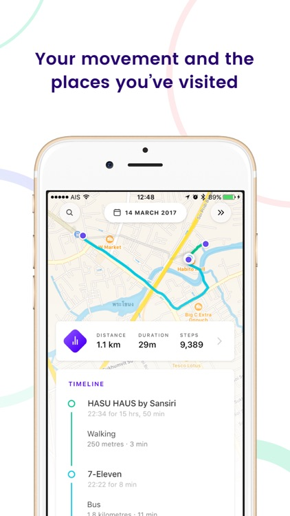 Arc App - Location & activity tracker
