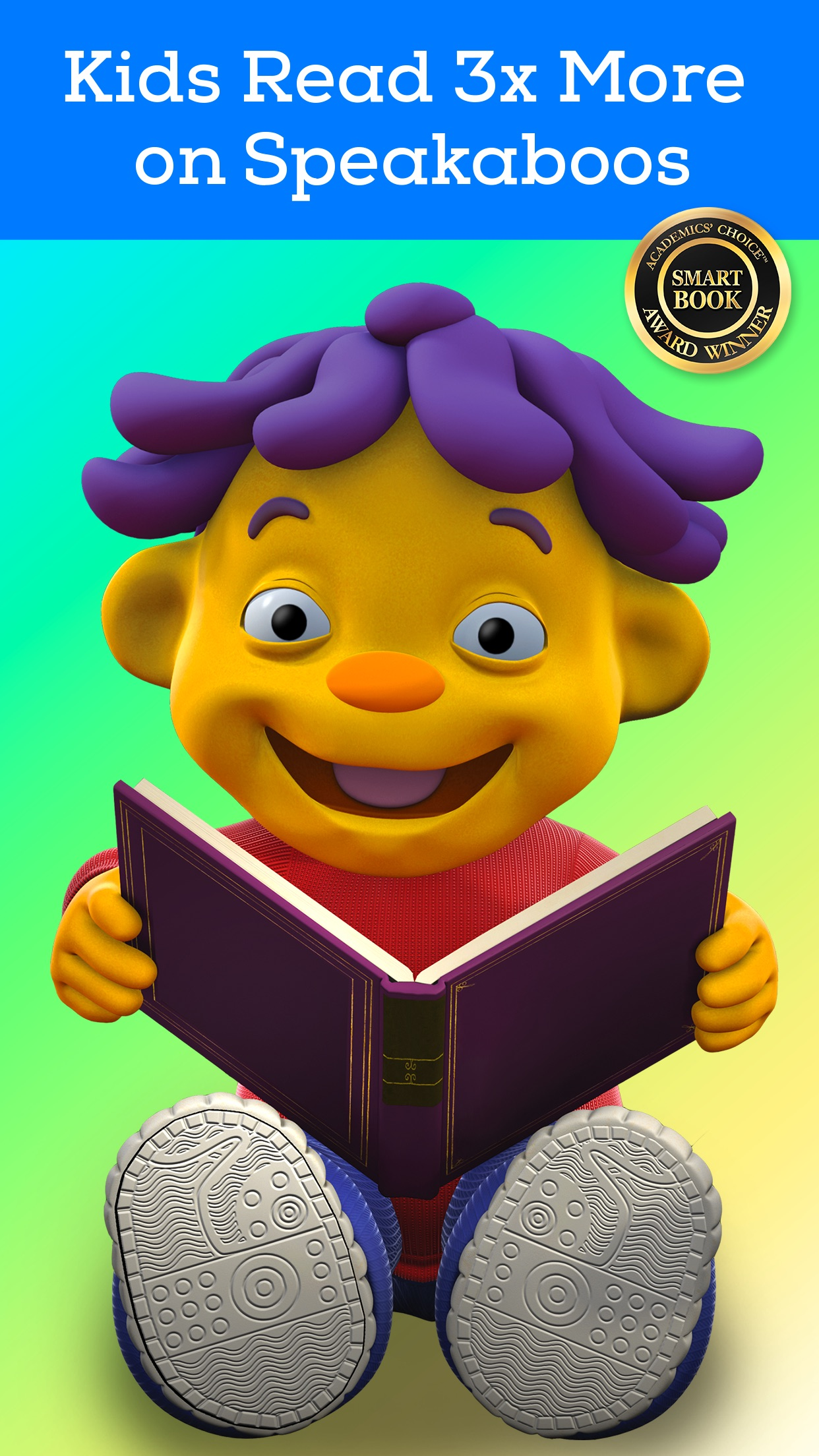 Speakaboos - The Reading and Learning App for Kids Screenshot