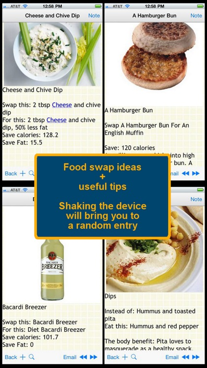 170 Food Swap Ideas screenshot-0