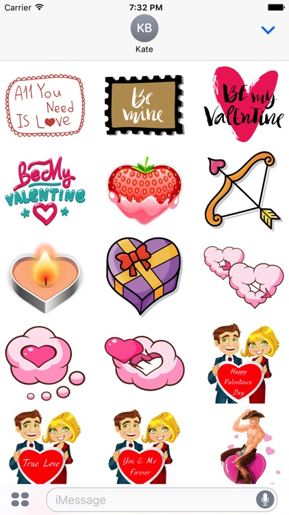Valentine's Day Mega Sticker Pack