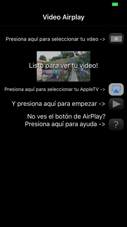 Quick AirPlay - Optimized for your iPhone videos