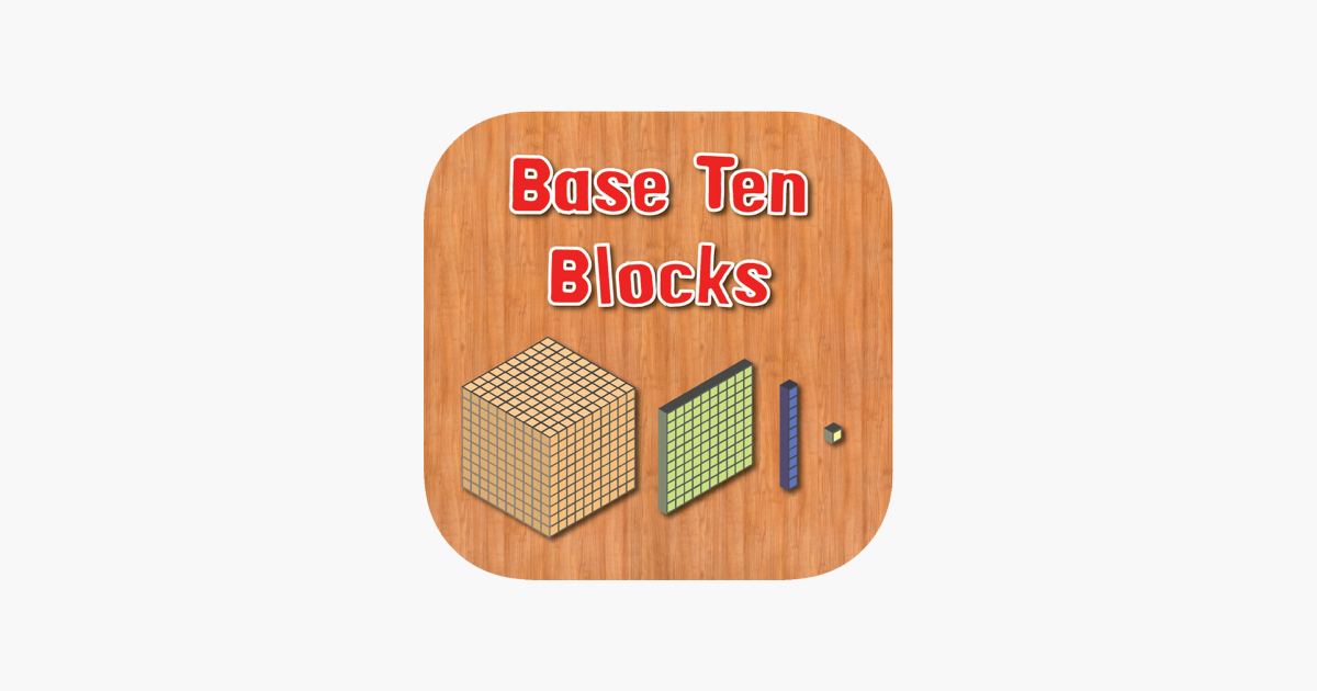 Base Ten Blocks on the App Store