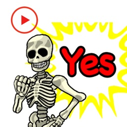 Skeleton Animated Stickers
