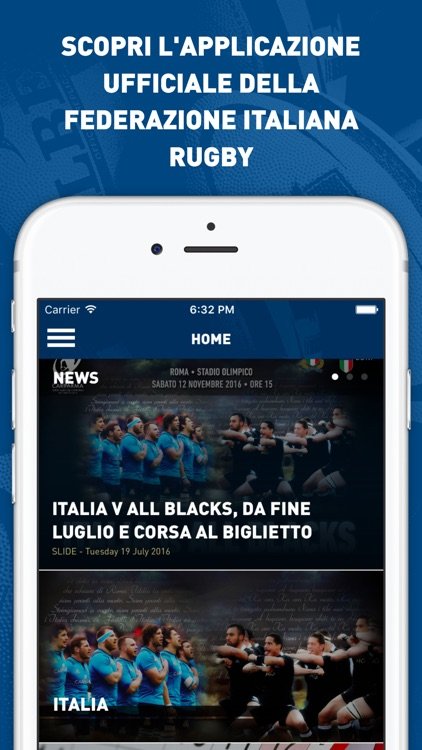 Federazione Italiana Rugby screenshot-0