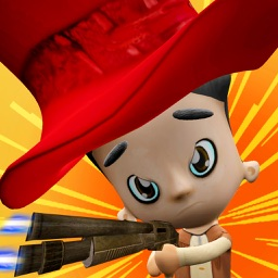 Bandit Kids Shooter - Fun Shooting Games for Kids