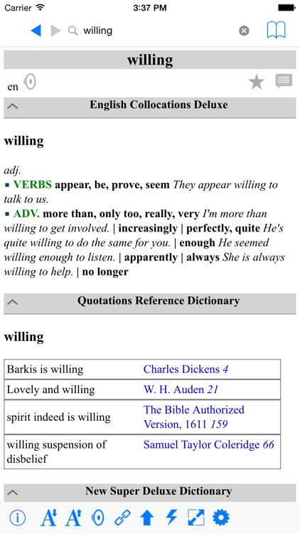 Modern Deluxe English Dictionaries Collection screenshot-3