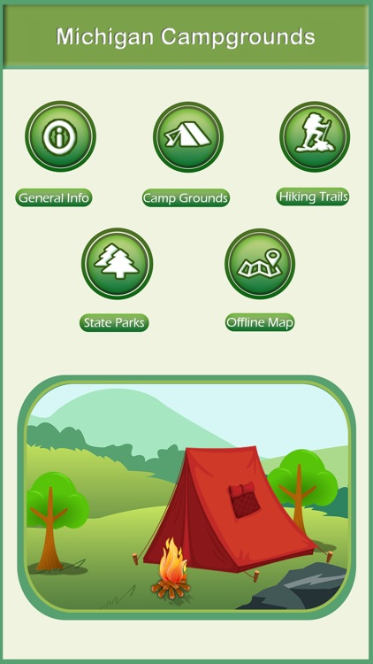 Michigan Camping & Hiking Trails