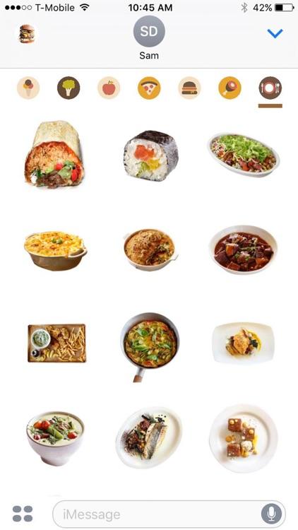 Food Porn Emoji By Fabio Viviani screenshot-3