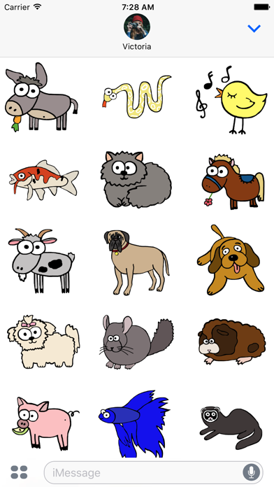 Animal Ages StickersScreenshot of 1