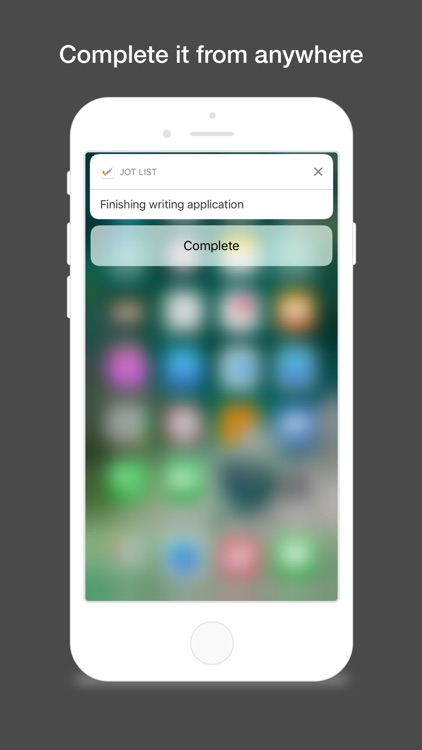 Jot List - The fast and simple task manager screenshot-3