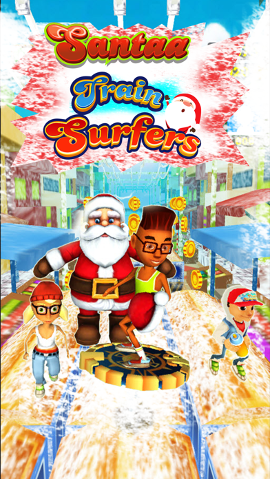 Subway Santa : Frozen Train Surfers