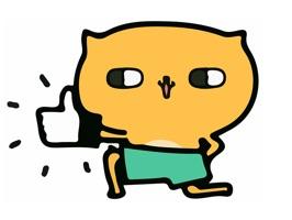 ANIMATED Shirtless Cat