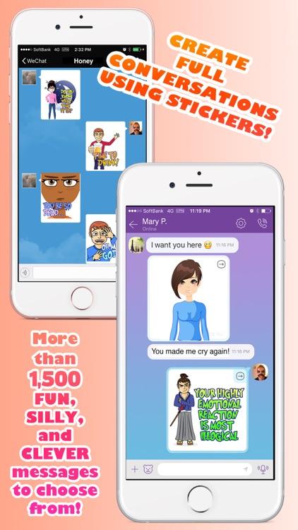 Bit Emoji (BitEmoji) Real Emotion Texting Stickers screenshot-4