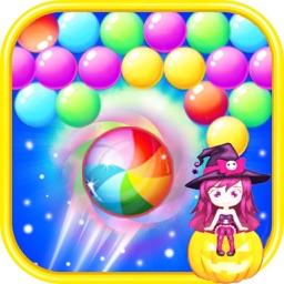 Candy Witch Bubbles Shooter-Free Mania Puzzle Game