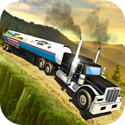 Offroad Milk Tanker Truck Transport Simulator 2017