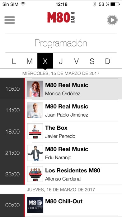 download M80 Radio para iPhone apps 1