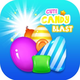 Cute Candy Blast Match 3 Candy Puzzle